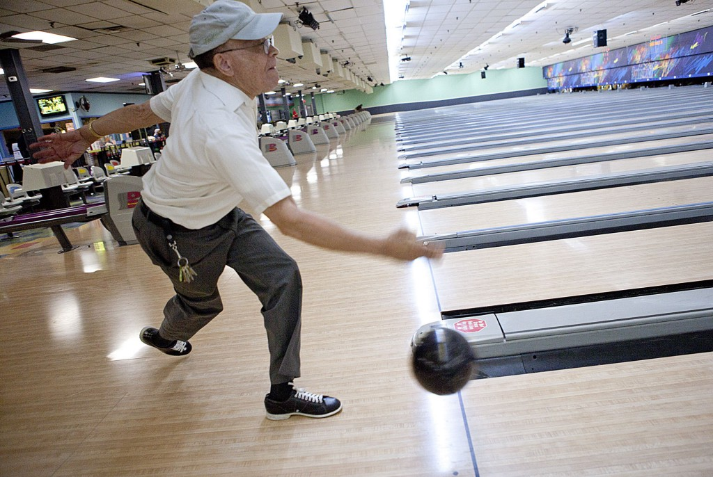 Harry Otey Bowls At Erie Lanes On 1310 E Ave Sunday June 5