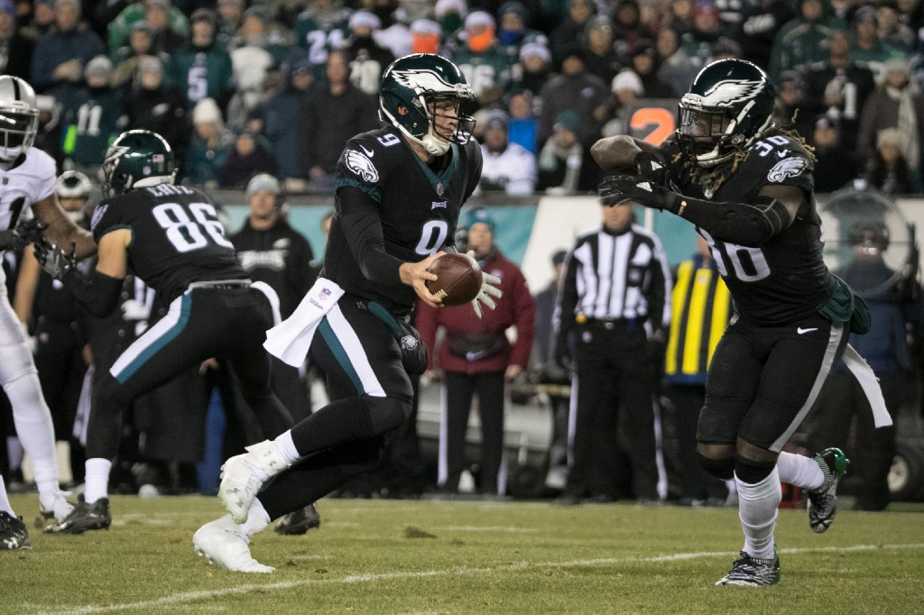 Well-armed  The Birds are stacked at quarterback. They have Carson Wentz as  their starter once he is cleared to play and Super Bowl MVP Nick Foles as a  ... dfa9bf94f