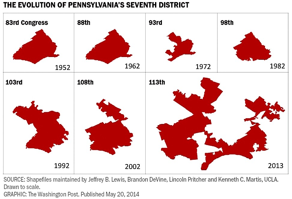 State Legislatures Take Aim At >> Group Takes Aim At Gerrymandering In Pennsylvania Northeast Times