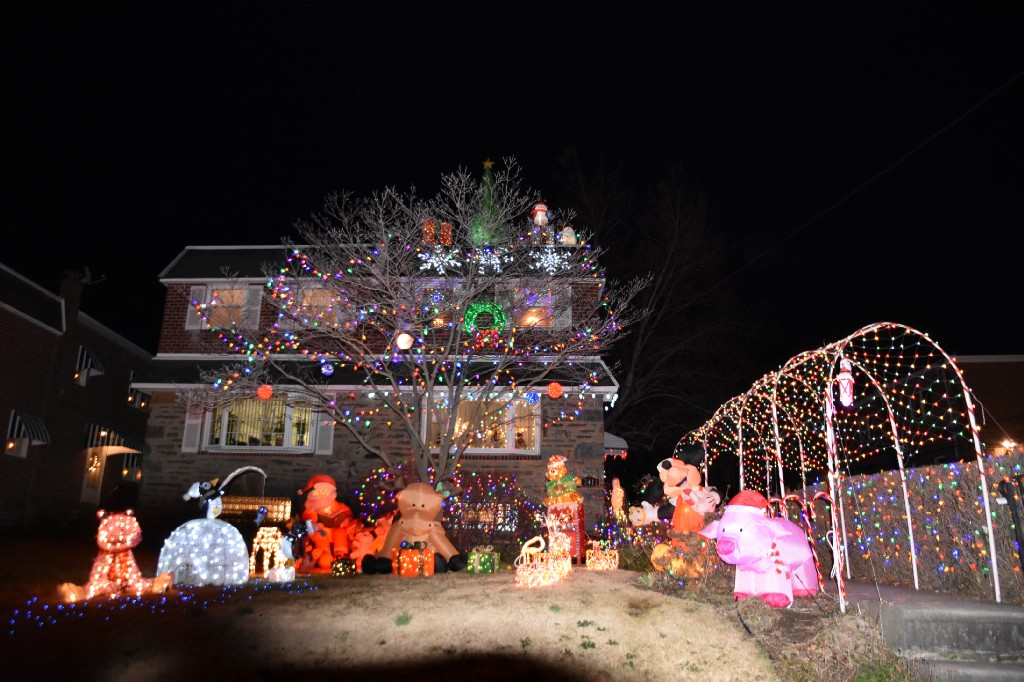 7411 Brous Ave Pictured Is The Only House To Have Won Each Year JOHN COLE TIMES PHOTOS