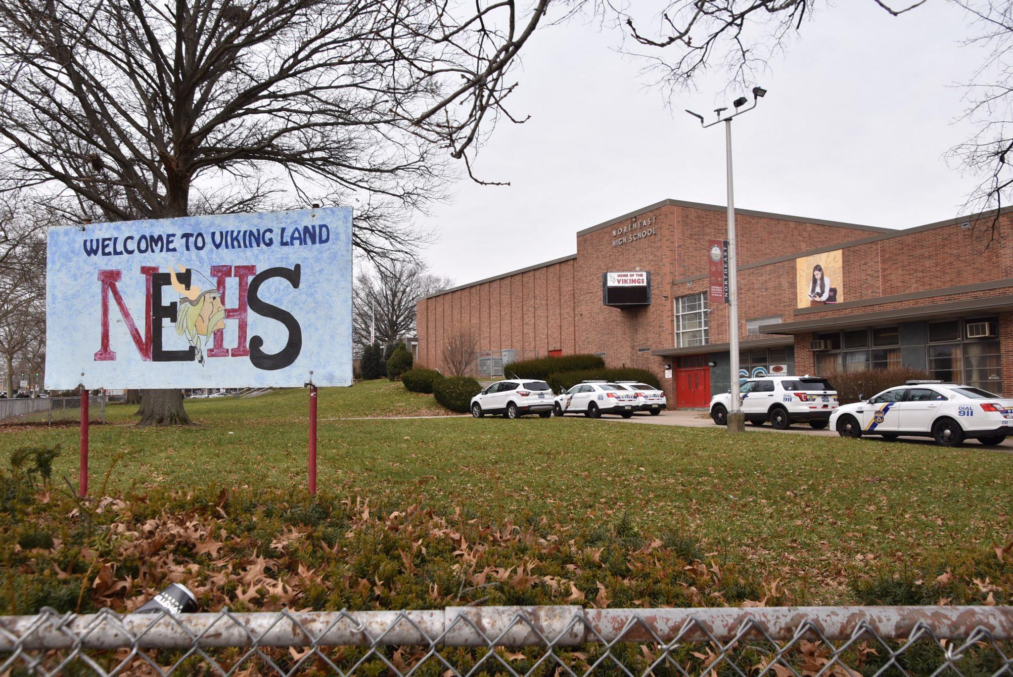 Northeast High School put on lockdown after report of gun in the