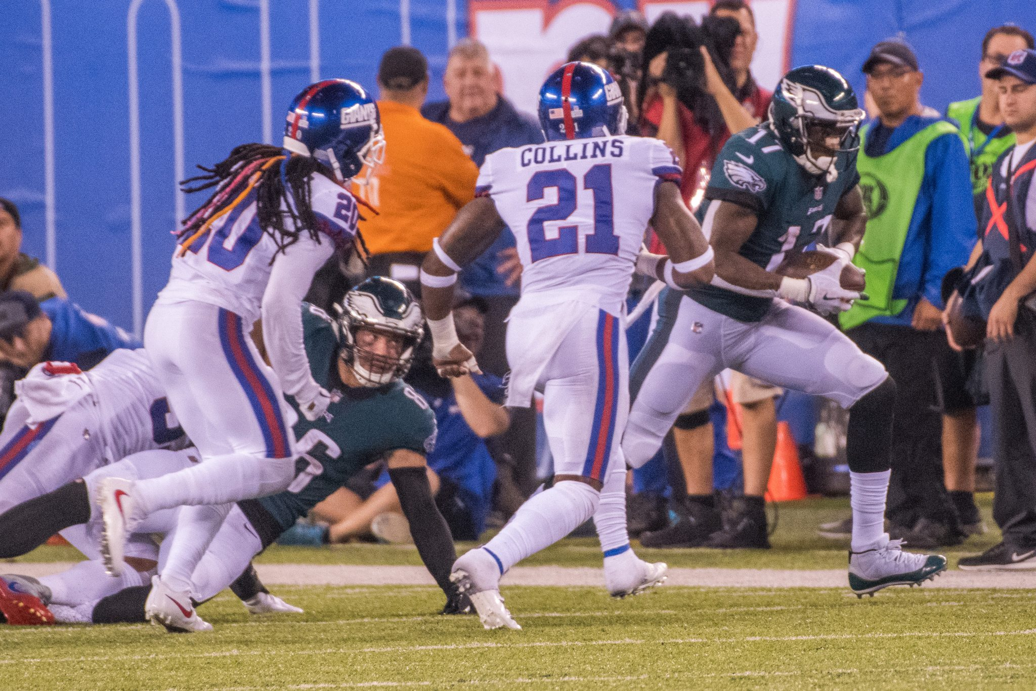 b7b17d7c9 Safety first  How will Eagles fans feel if it s three-time Pro Bowl safety  Landon Collins chasing the Giants this season if the Birds can sign the ...