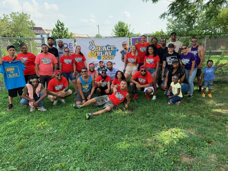Block Gives Back promotes peace and play