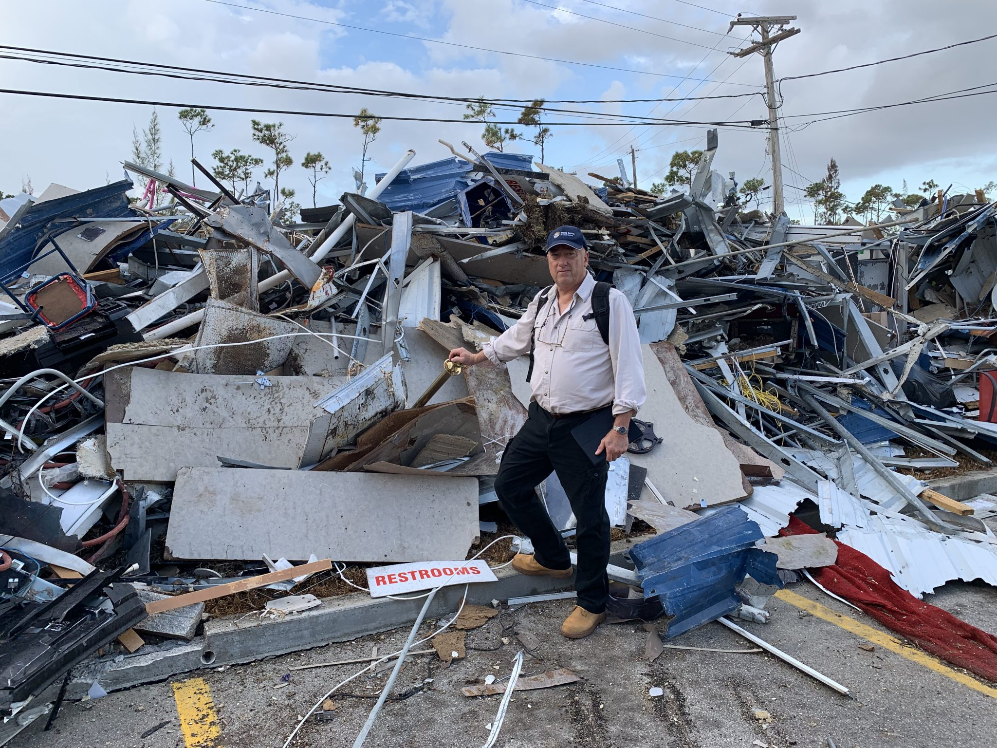 American Heritage officials assist credit unions damaged by Hurricane Dorian