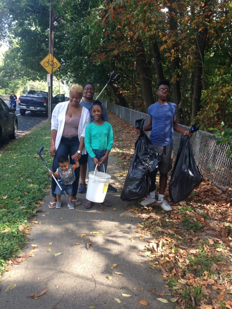 Friends of Pennypack Park removes 48 bags of trash