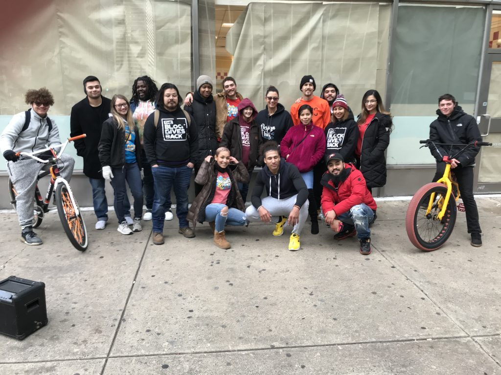 Block Gives Back feeds the homeless